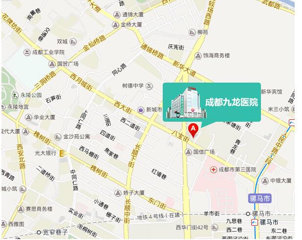 成都九龙医院地址