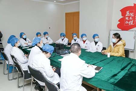 打造学习型医院 我院邀请三甲专家开展女性阴道微生态专题培训